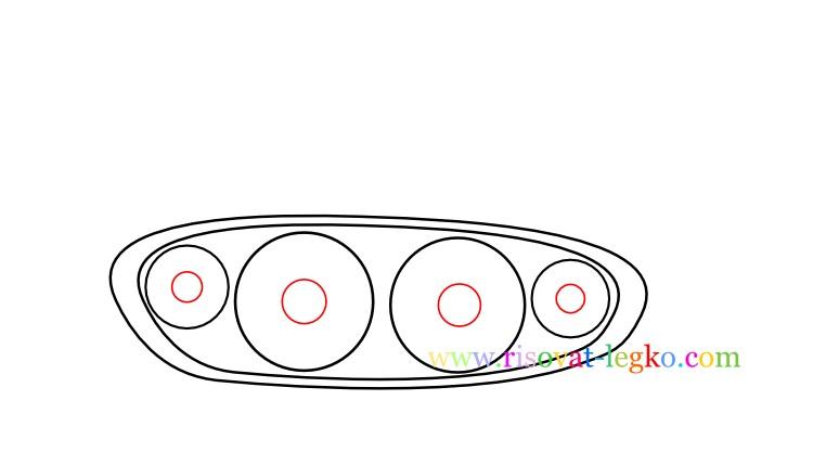 05.Как нарисовать танк поэтапно ребенку