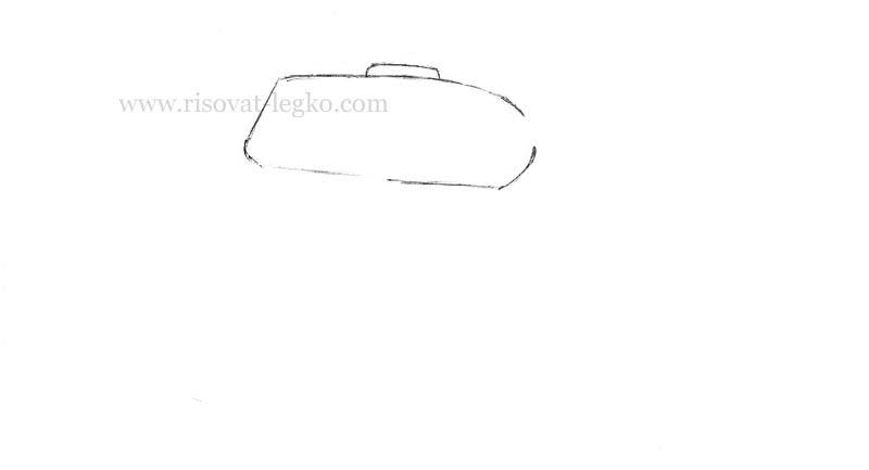 02.Как нарисовать танк т 34 карандашом поэтапно