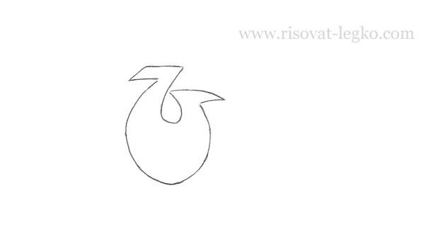 02.Как рисовать граффити карандашом поэтапно