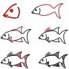 09.Как рисовать рыбу поэтапно карандашом: лучшие уроки