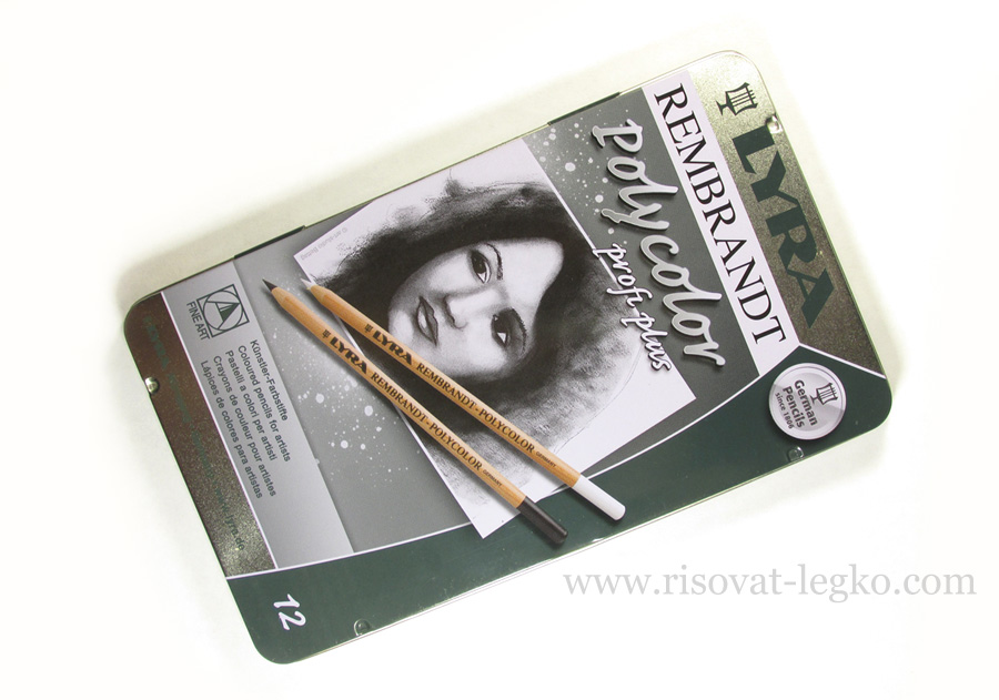 03.Карандаши Lyra Rembrandt Polycolor Profi Plus