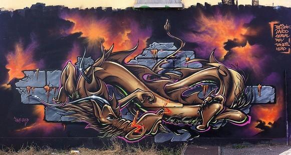 07.Картинки граффити фото: уличное искусство