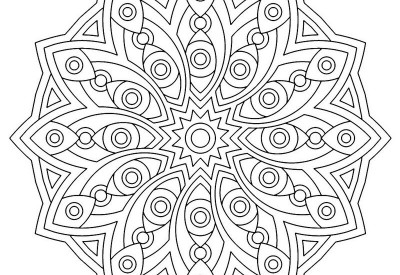01.Мандала раскраска: интересно и полезно