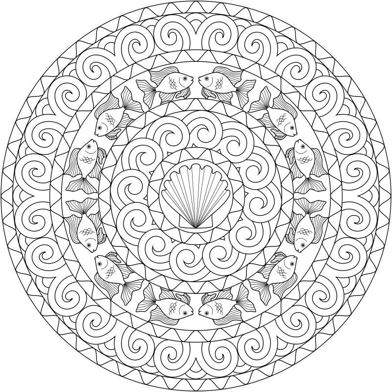 mandala coloring pages complicated love - photo#45