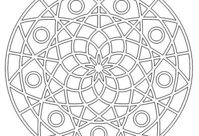 01.Мандалы для раскрашивания распечатать