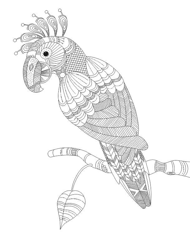 Картинки-раскраски животных для детей - e036f