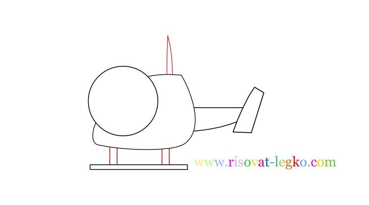 07.Рисование для детей 7 лет: как рисовать вертолет