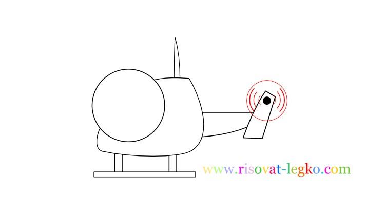 08.Рисование для детей 7 лет: как рисовать вертолет