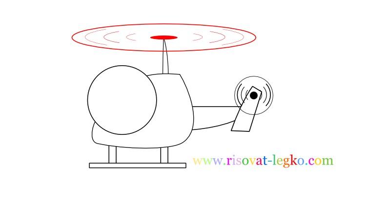 09.Рисование для детей 7 лет: как рисовать вертолет