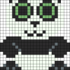 10.Рисунки по клеточкам панда