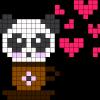 17.Рисунки по клеточкам панда