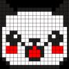 18.Рисунки по клеточкам панда