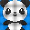 04.Рисунки по клеточкам панда