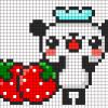 07.Рисунки по клеточкам панда