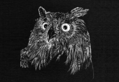 01.Техника граттаж – рисование острыми предметами