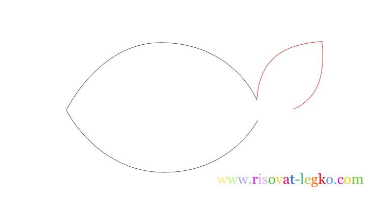 04.Урок рисования для детей: рисуем рыбку легко!
