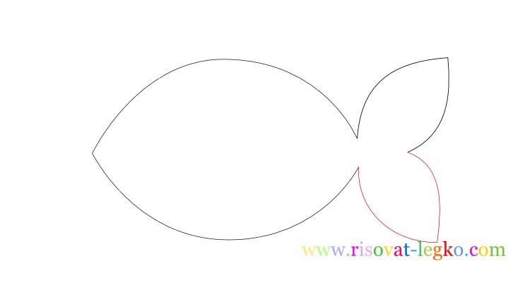 05.Урок рисования для детей: рисуем рыбку легко!