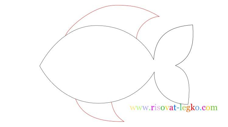 06.Урок рисования для детей: рисуем рыбку легко!