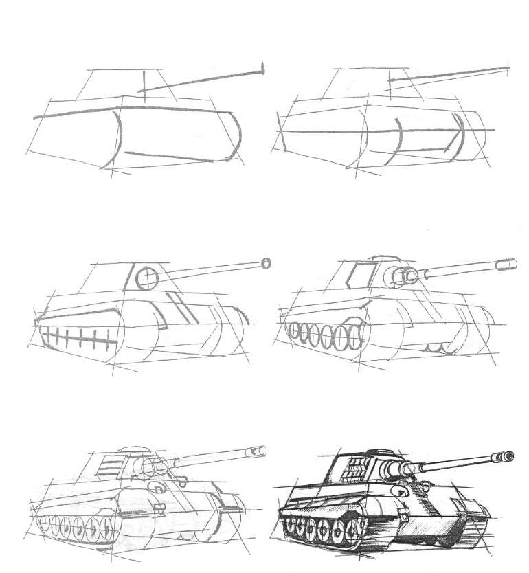 танк кв-2 картинки