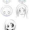 10.картинки аниме для срисовки поэтапно