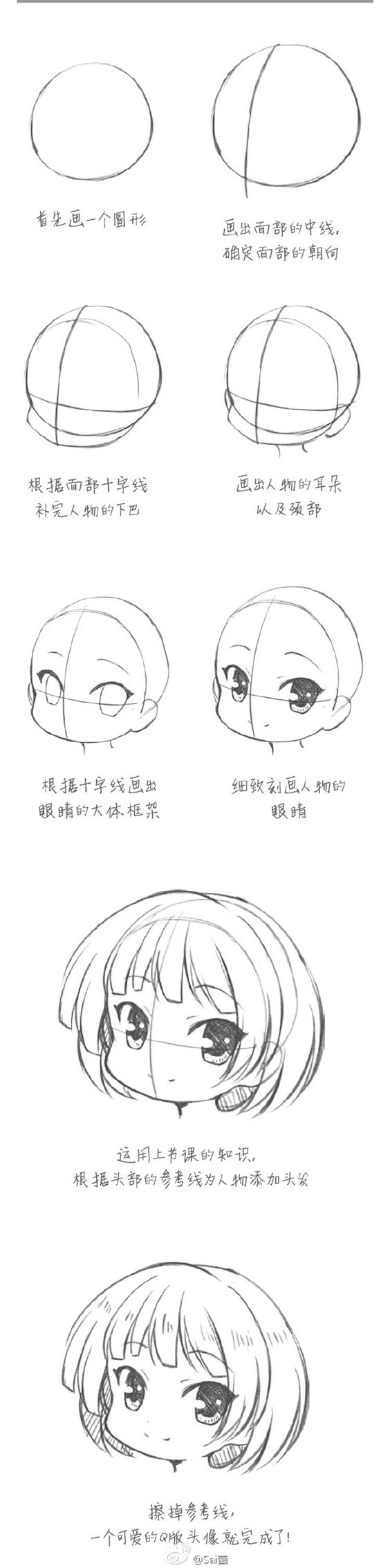 Научиться рисовать с нуля карандашом поэтапно аниме