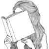 13.картинки для срисовки девушки